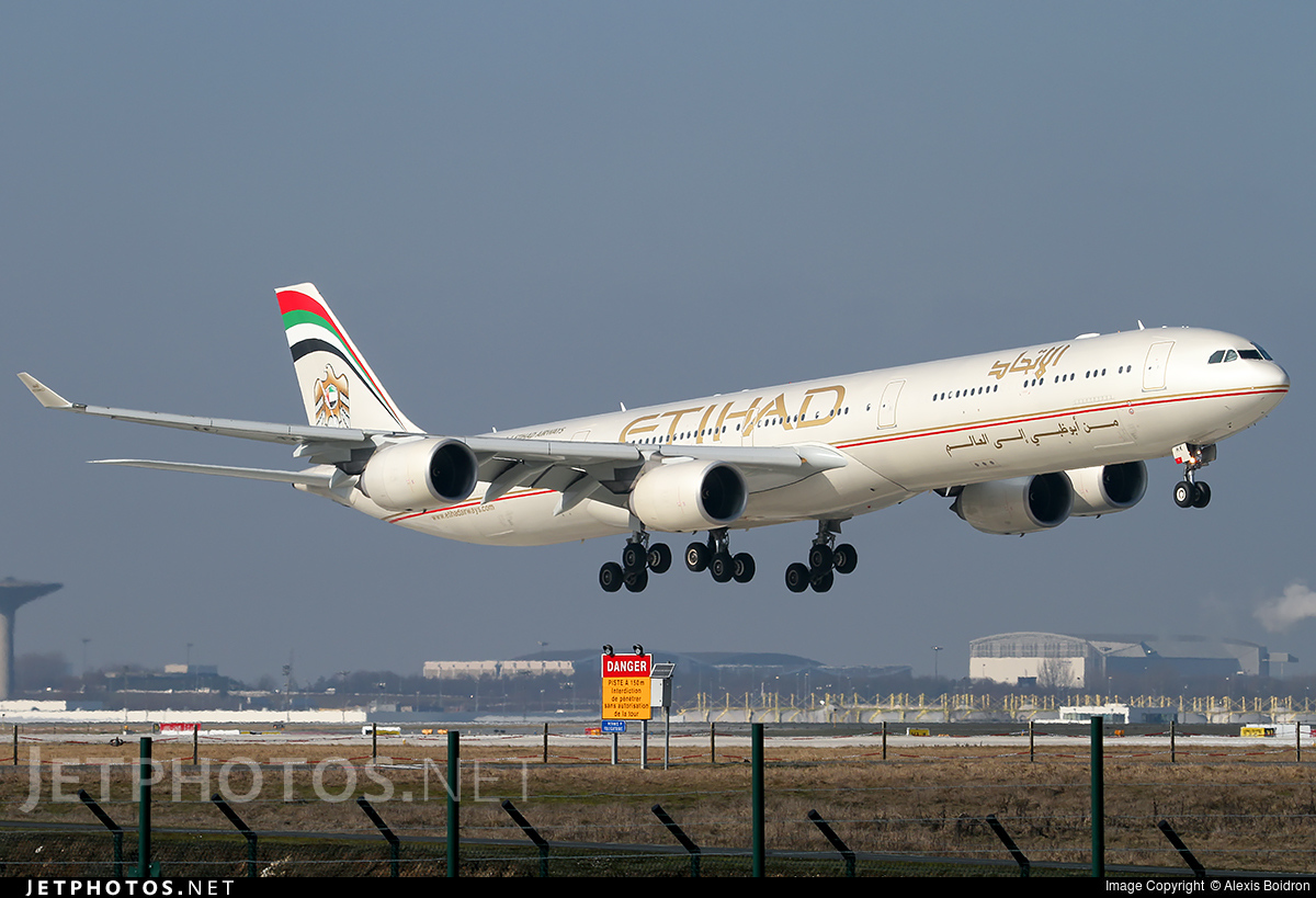 A6-EHK - Airbus A340-642X - Etihad Airways
