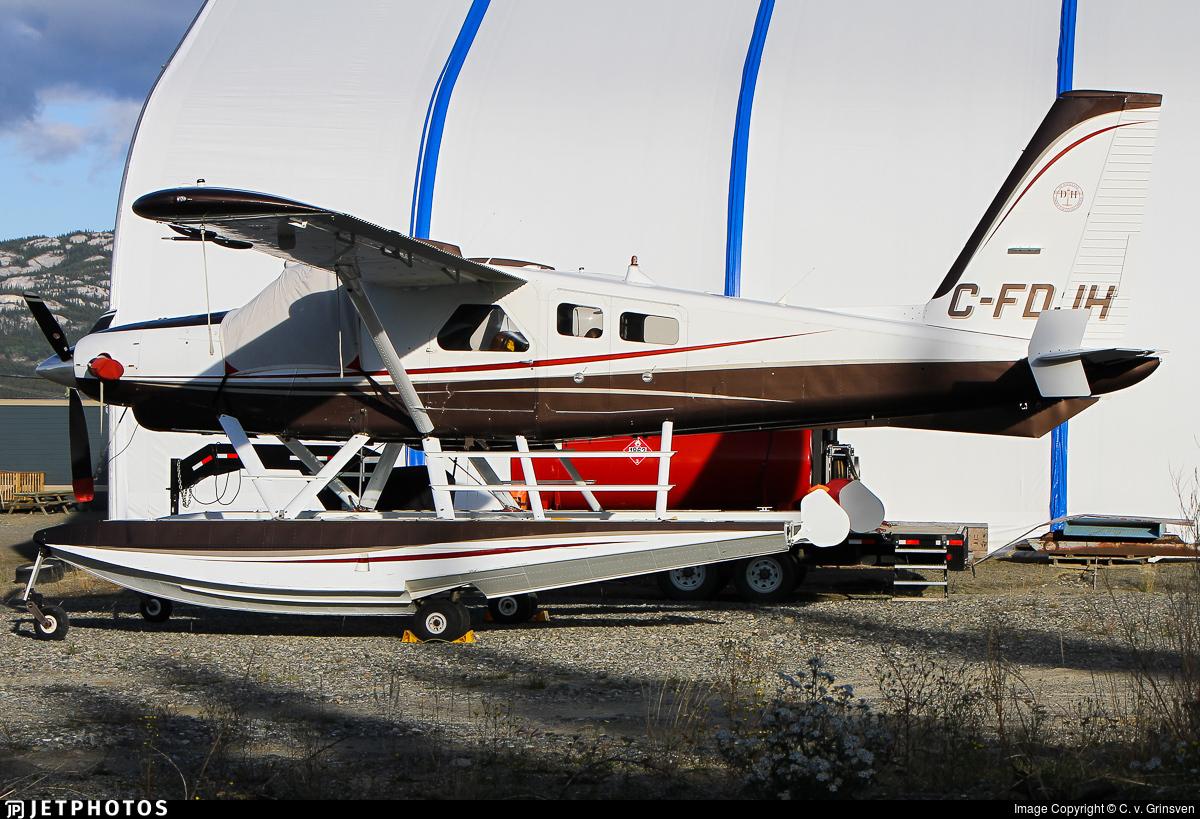 C-FDJH - De Havilland Canada DHC-2 Mk.III Turbo-Beaver - Private