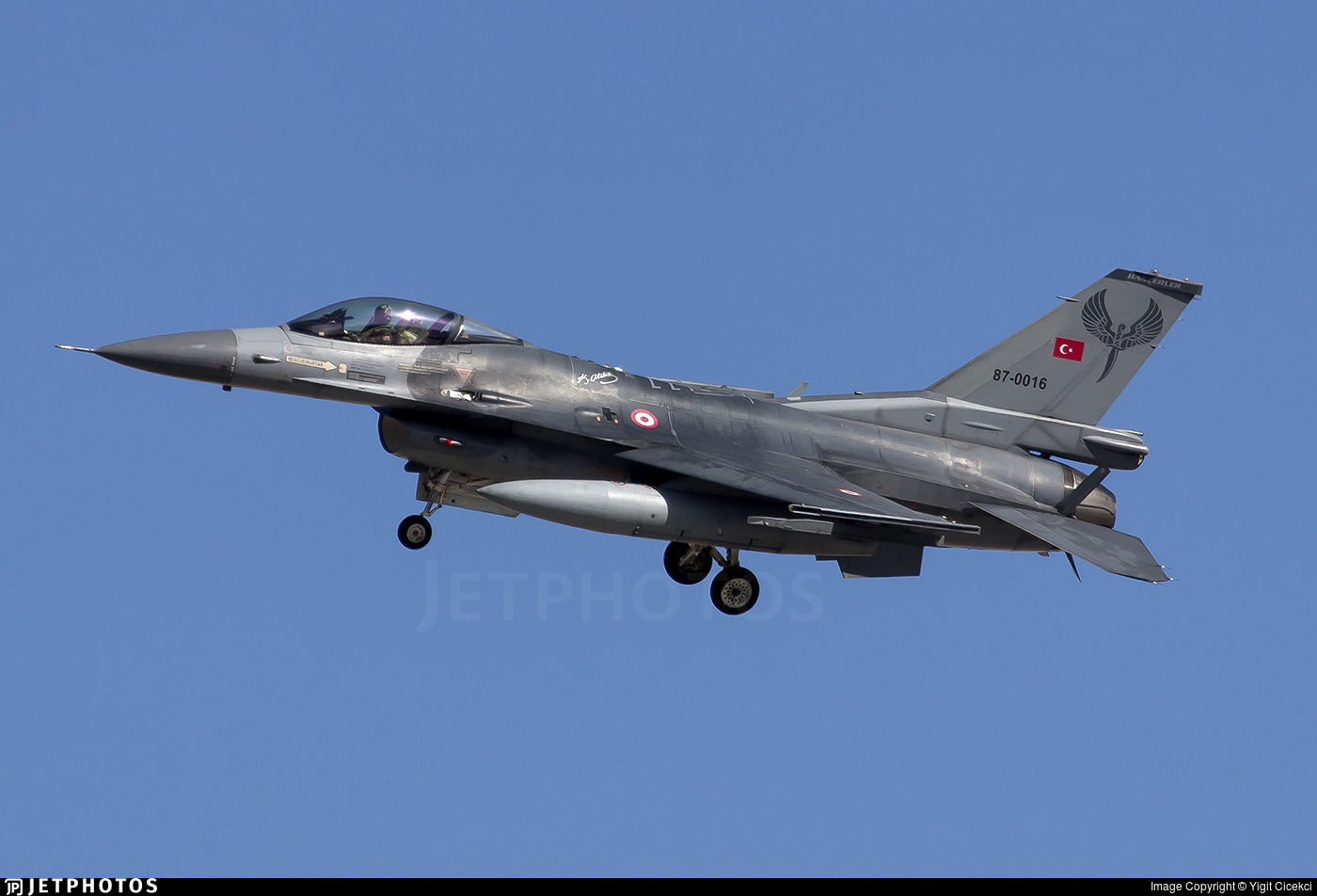 87-0016 - Lockheed Martin F-16C Fighting Falcon - Turkey - Air Force