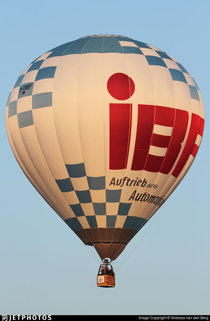 D-OIBF - Schroeder Fire Balloons G30/24 - Siebel-Ballooning