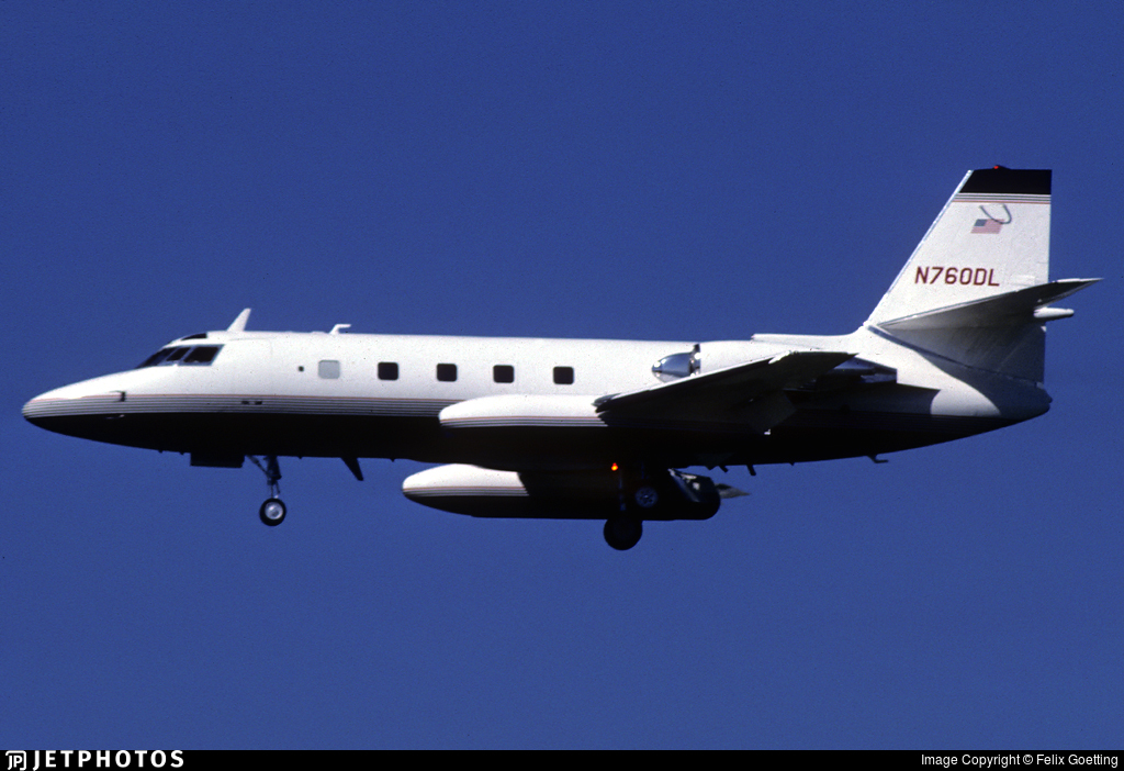 N760DL - Lockheed L-1329 JetStar II - Private