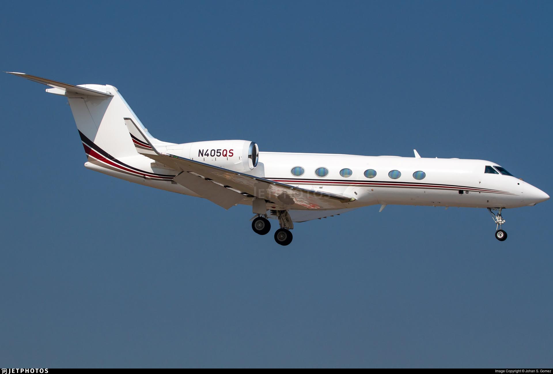 N405QS - Gulfstream G450 - NetJets Aviation
