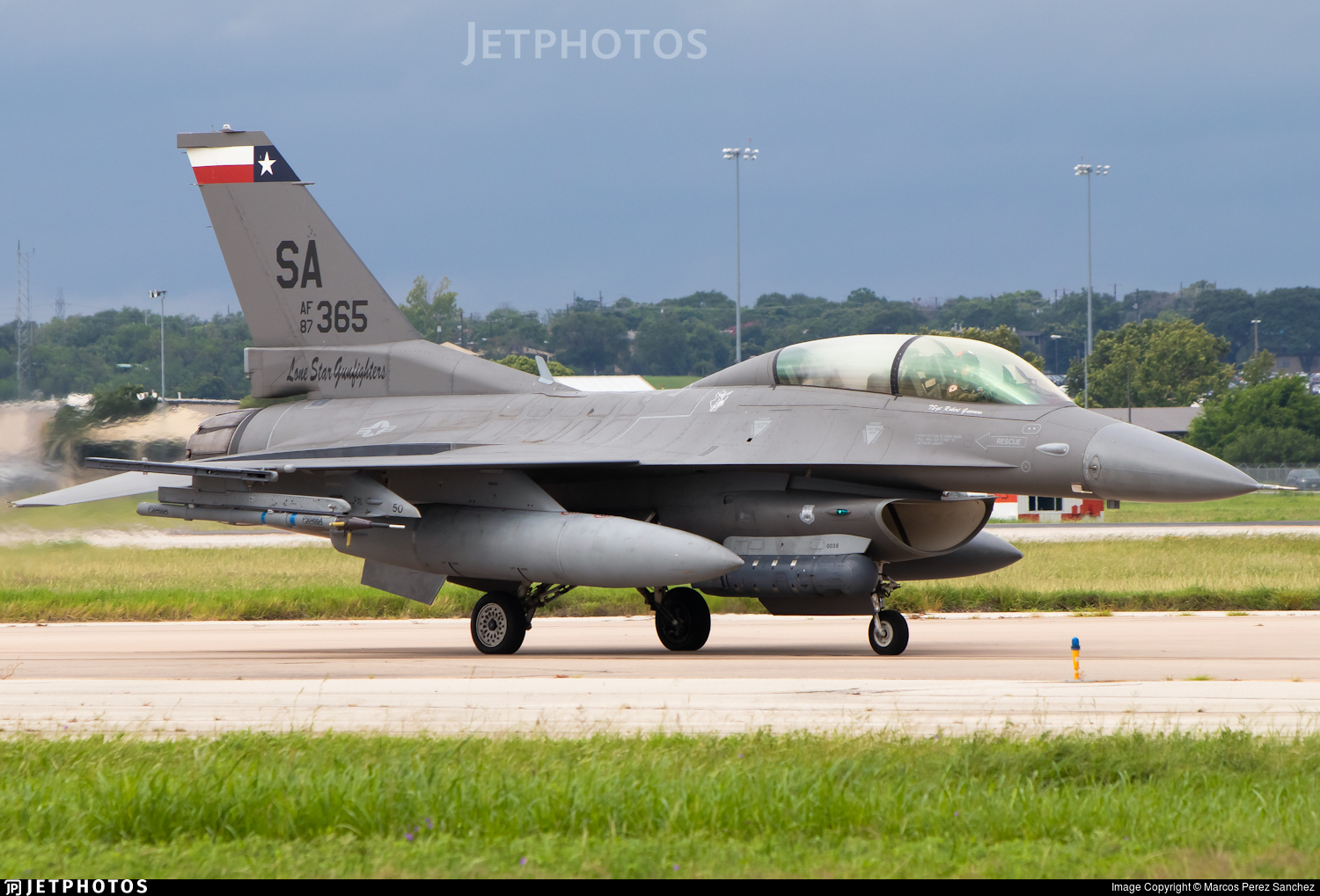 87-0365 - General Dynamics F-16D Fighting Falcon - United States - US Air Force (USAF)