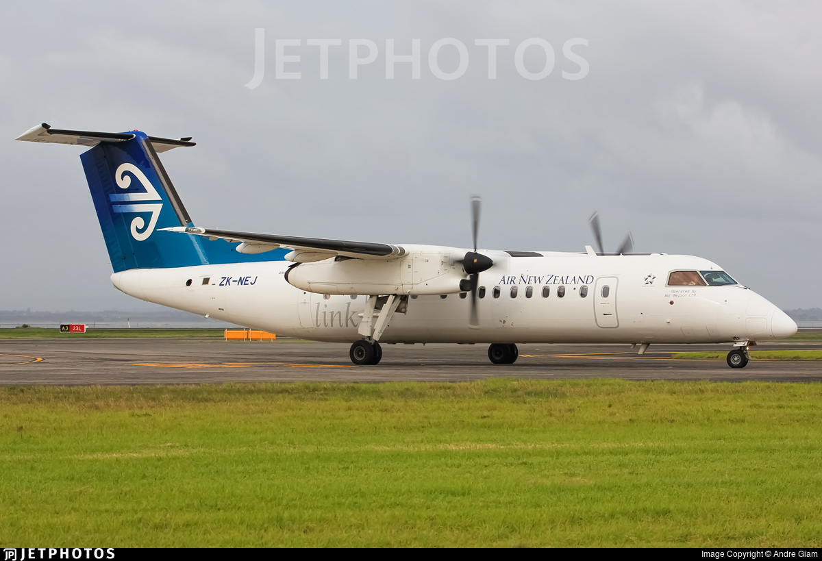 ZK-NEJ - Bombardier Dash 8-Q311 - Air New Zealand Link (Air Nelson)