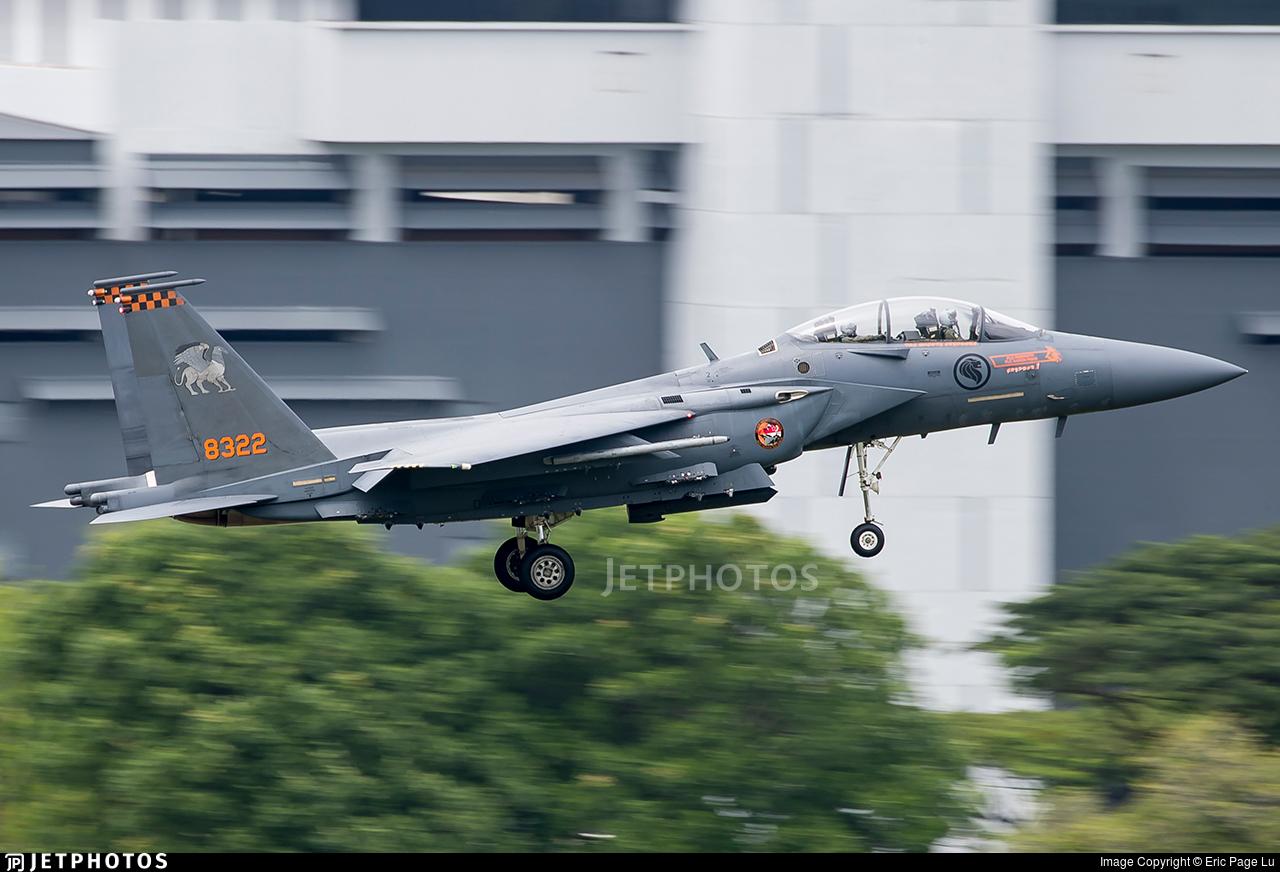 8728945 - Boeing F-15SG Strike Eagle - Singapore - Air Force