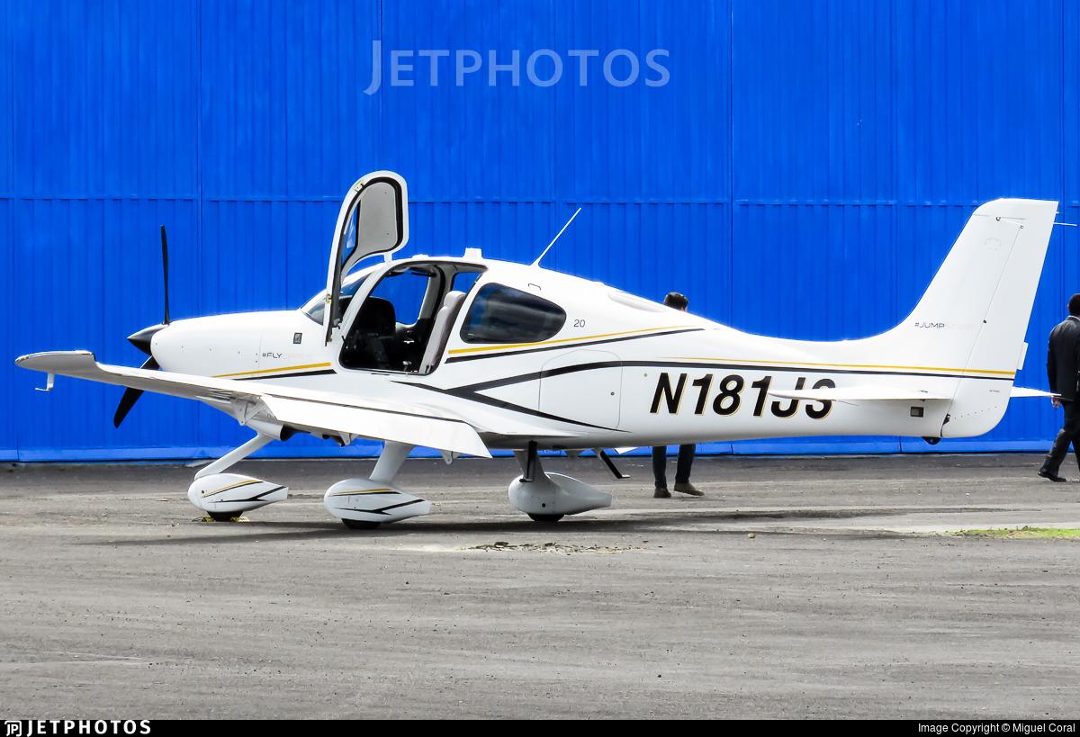 N181JS - Cirrus SR20 - Private