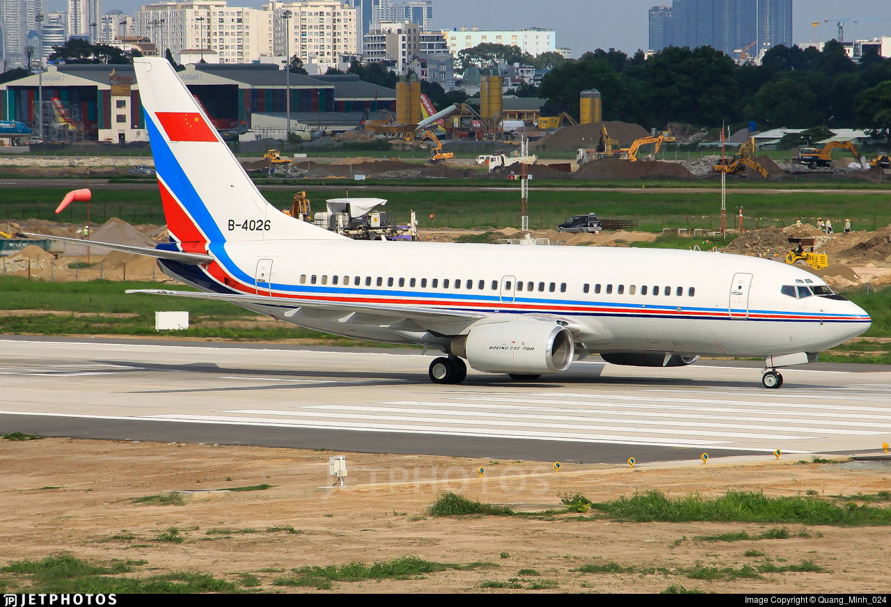 B-4026 - Boeing 737-76D - China - Air Force