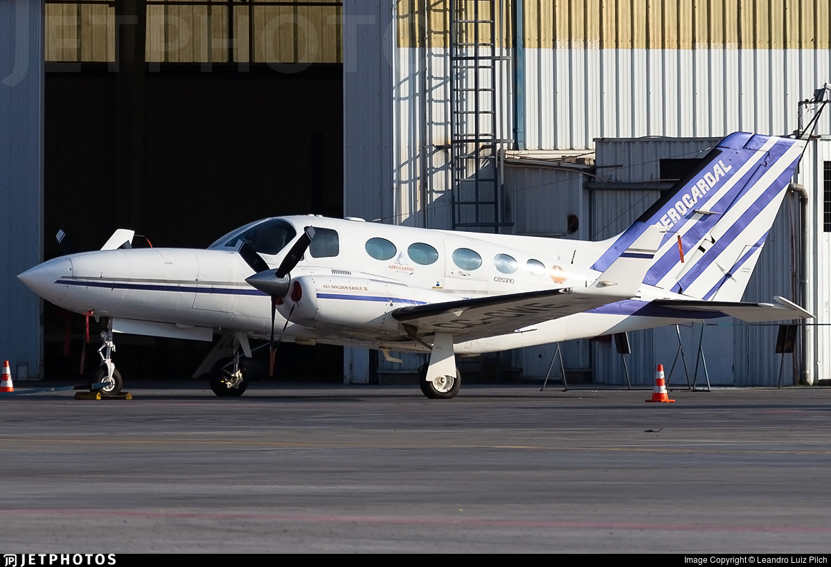 CC-CWE - Cessna 421C Golden Eagle - Aerocardal