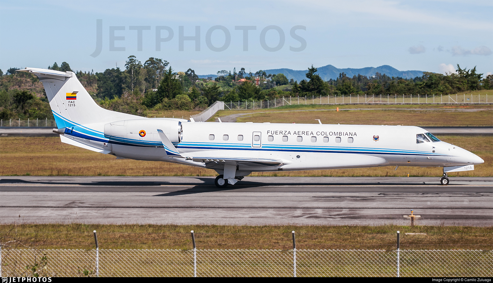 FAC1215 - Embraer ERJ-135BJ Legacy 600 - Colombia - Air Force