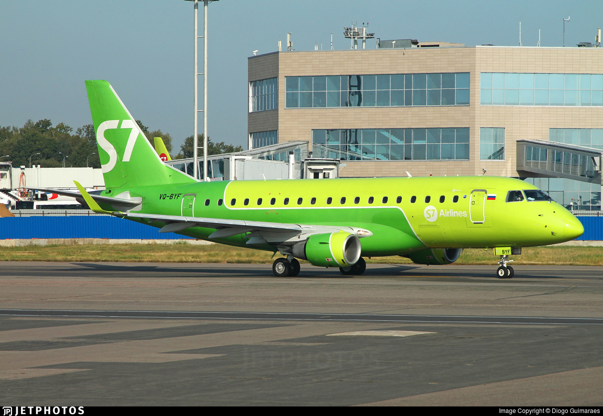 VQ-BYF - Embraer 170-100SU - S7 Airlines