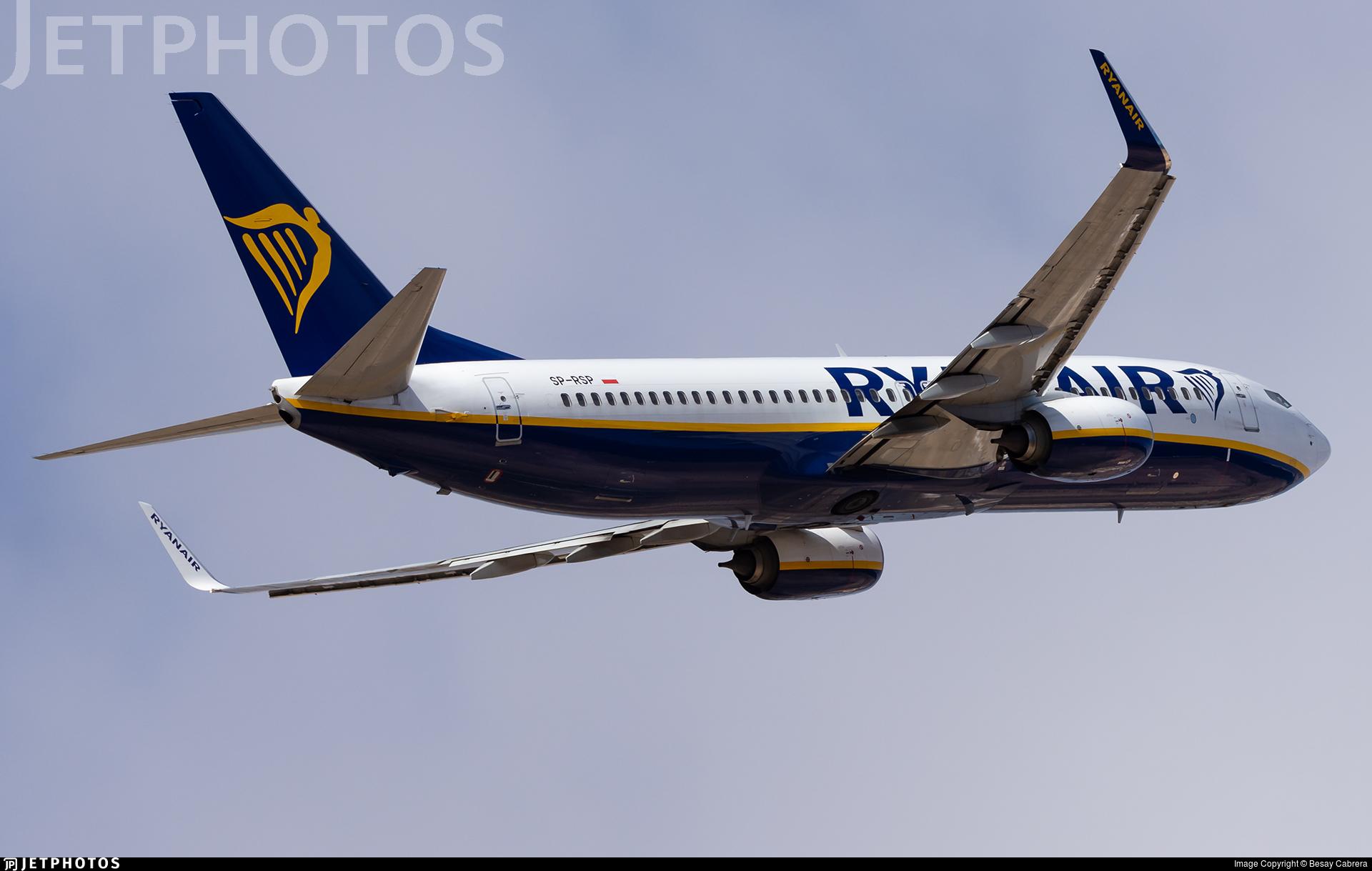 SP-RSP - Boeing 737-8AS - Ryanair Sun