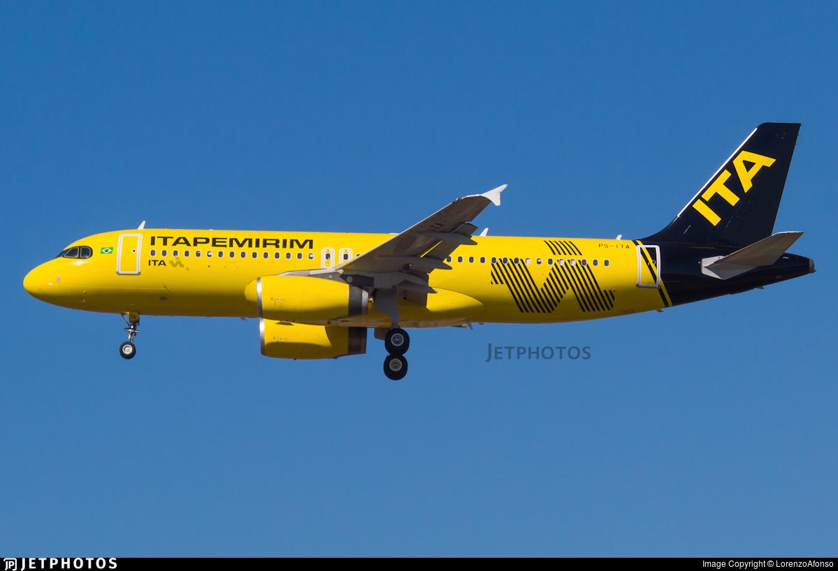 PS-ITA - Airbus A320-232 - ITA Transportes Aereos