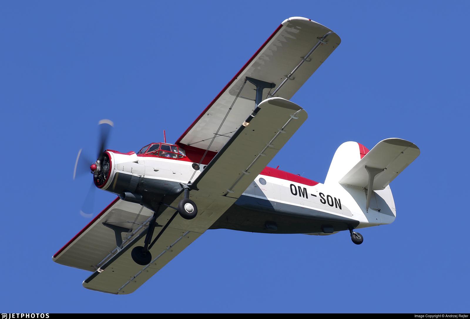 OM-SON - PZL-Mielec An-2 - Private