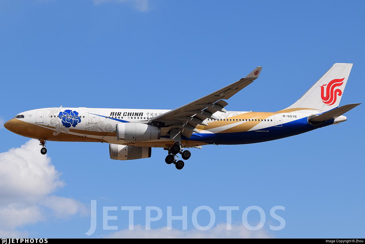 B-6076 - Airbus A330-243 - Air China