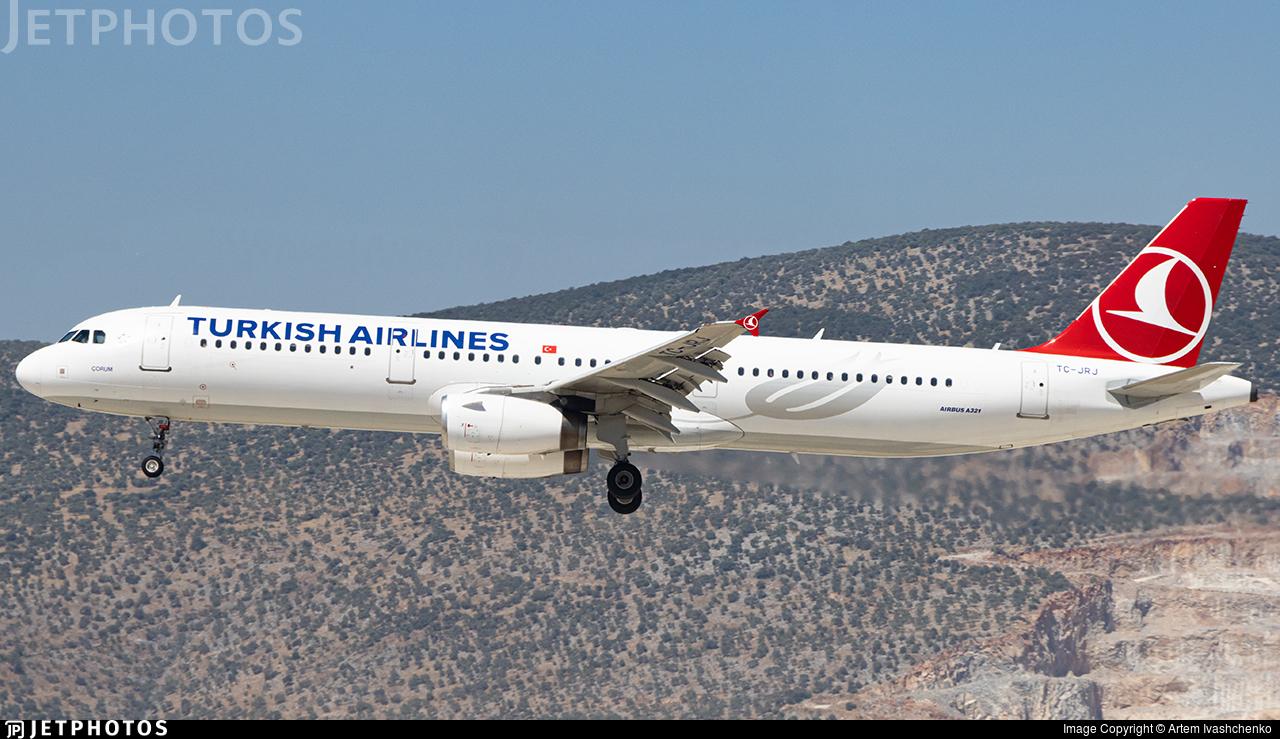 TC-JRJ - Airbus A321-231 - Turkish Airlines