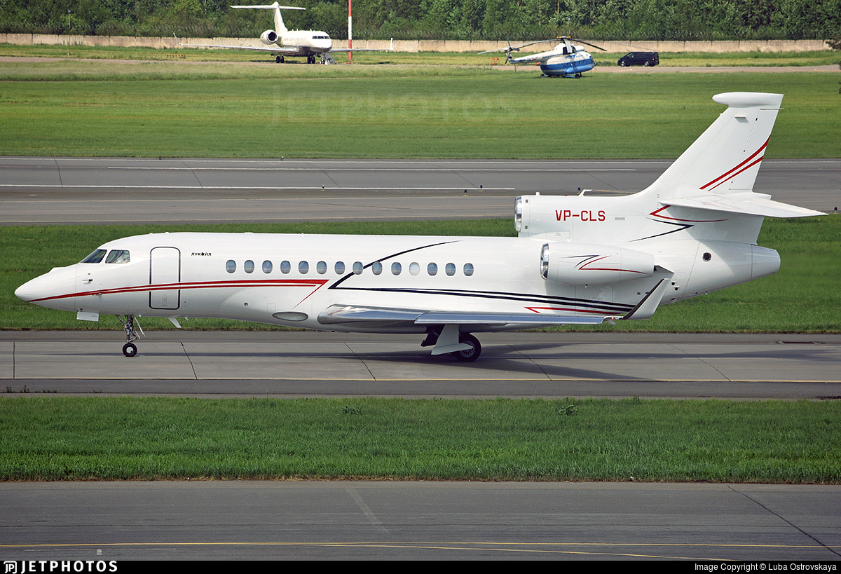 VP-CLS - Dassault Falcon 7X - Private