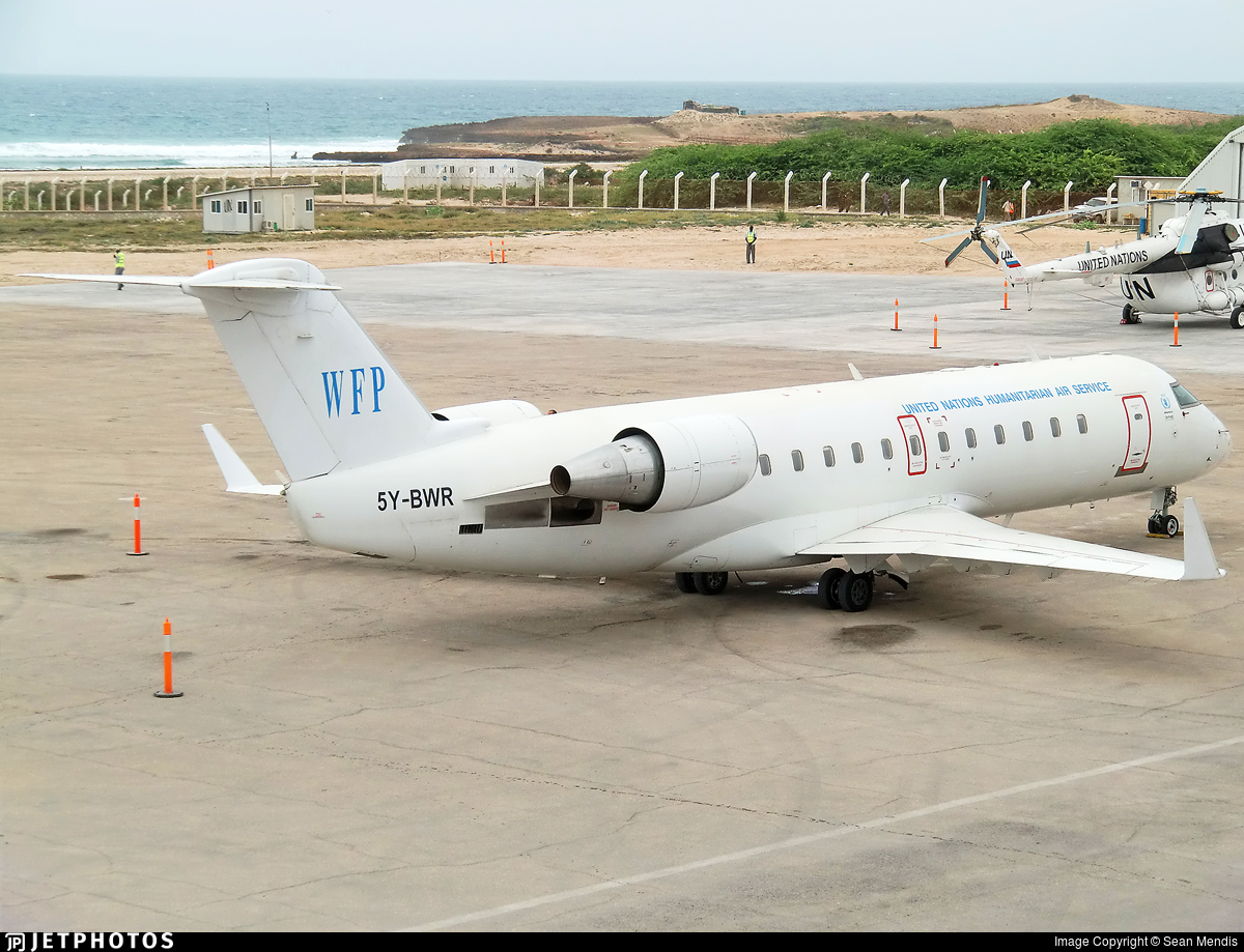 5Y-BWR - Bombardier CRJ-200LR - United Nations (DAC Aviation)