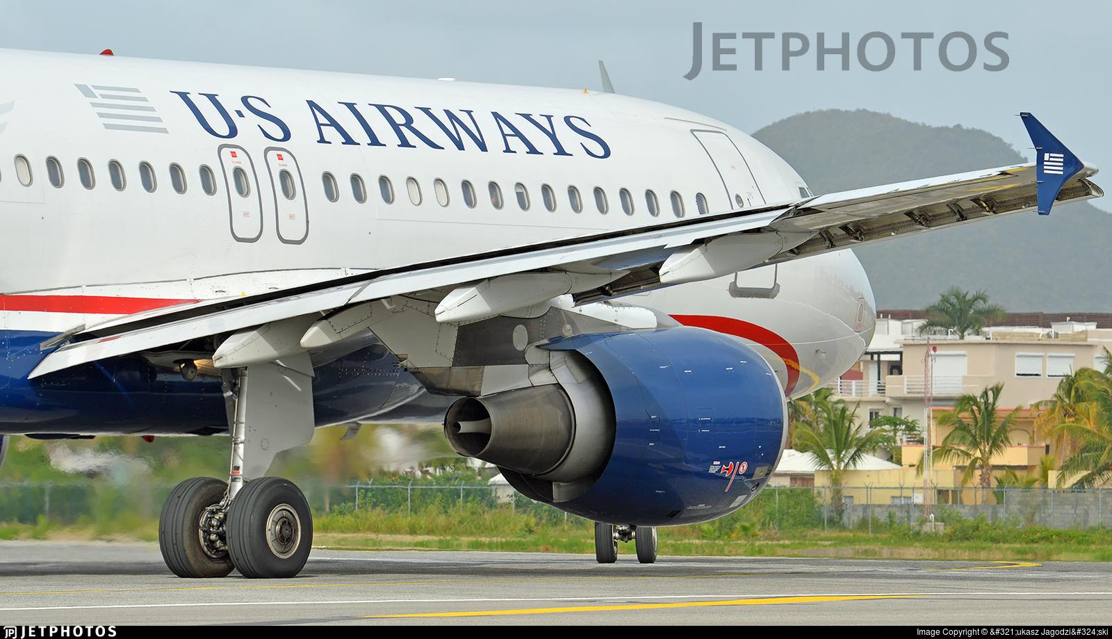 N119US - Airbus A320-214 - US Airways