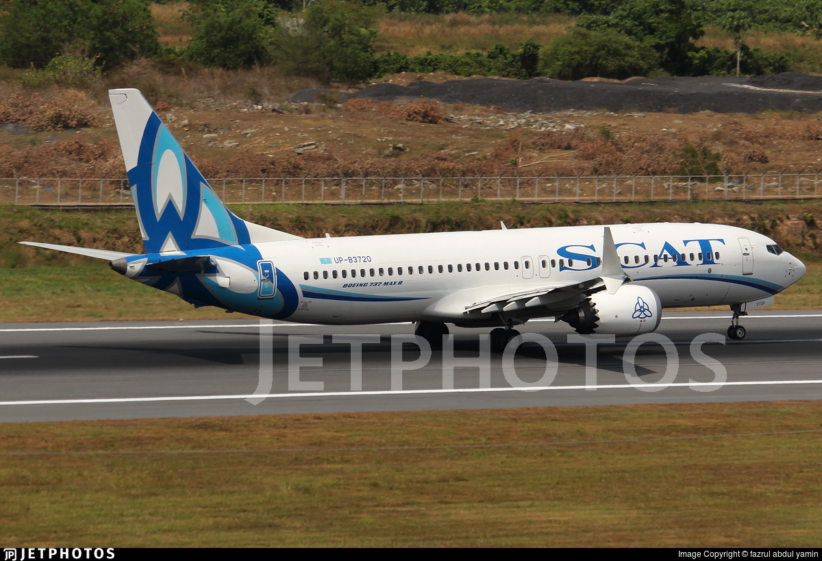 UP-B3720 - Boeing 737-8 MAX - Scat Air Company