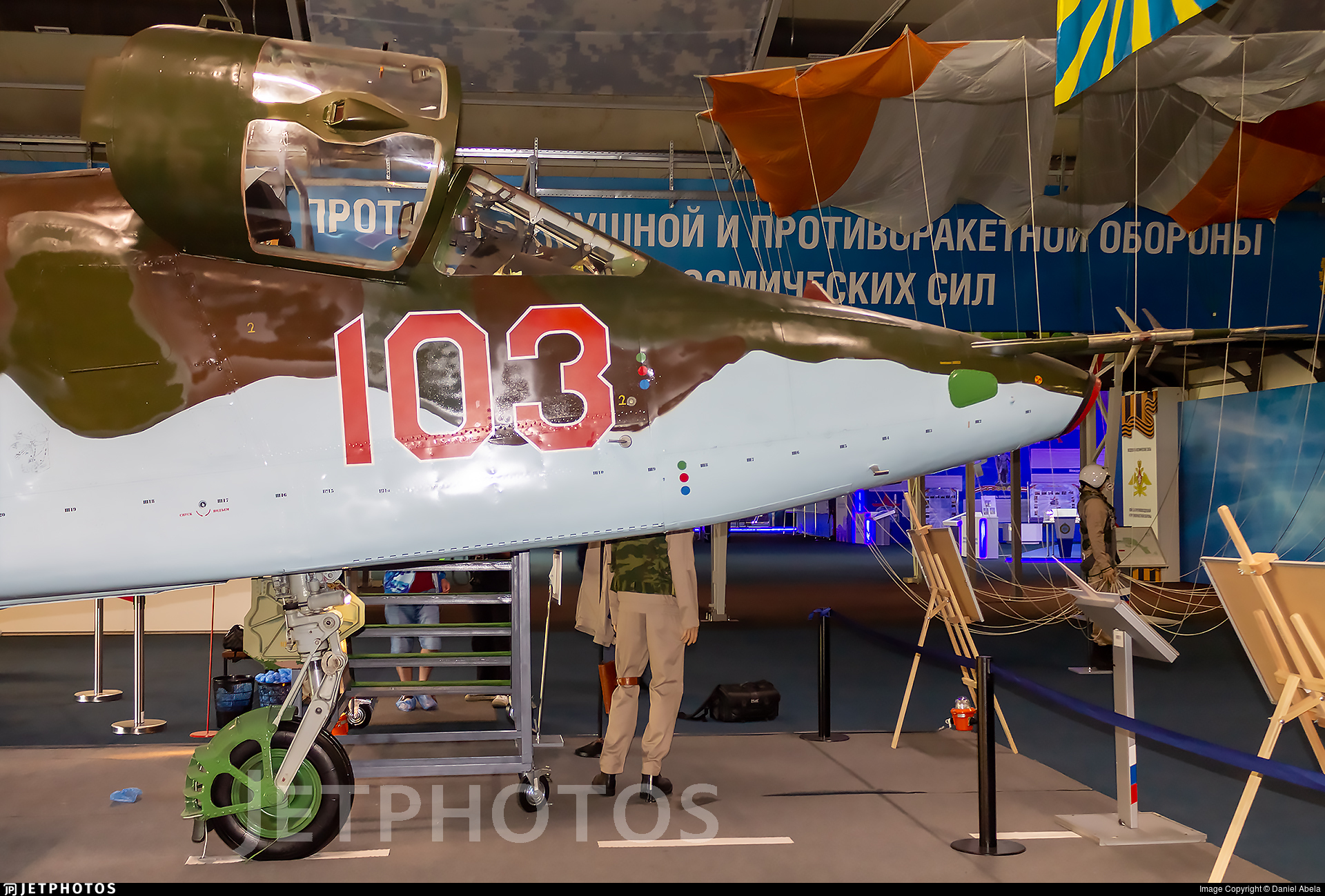 103 - Sukhoi Su-25 Frogfoot - Russia - Air Force