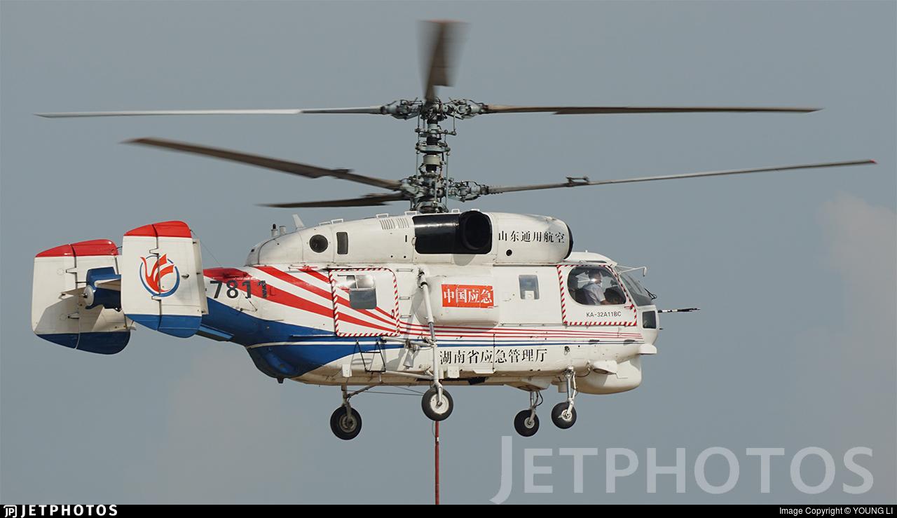 B-7811 - Kamov Ka-32A-11BC - Shandong General Aviation