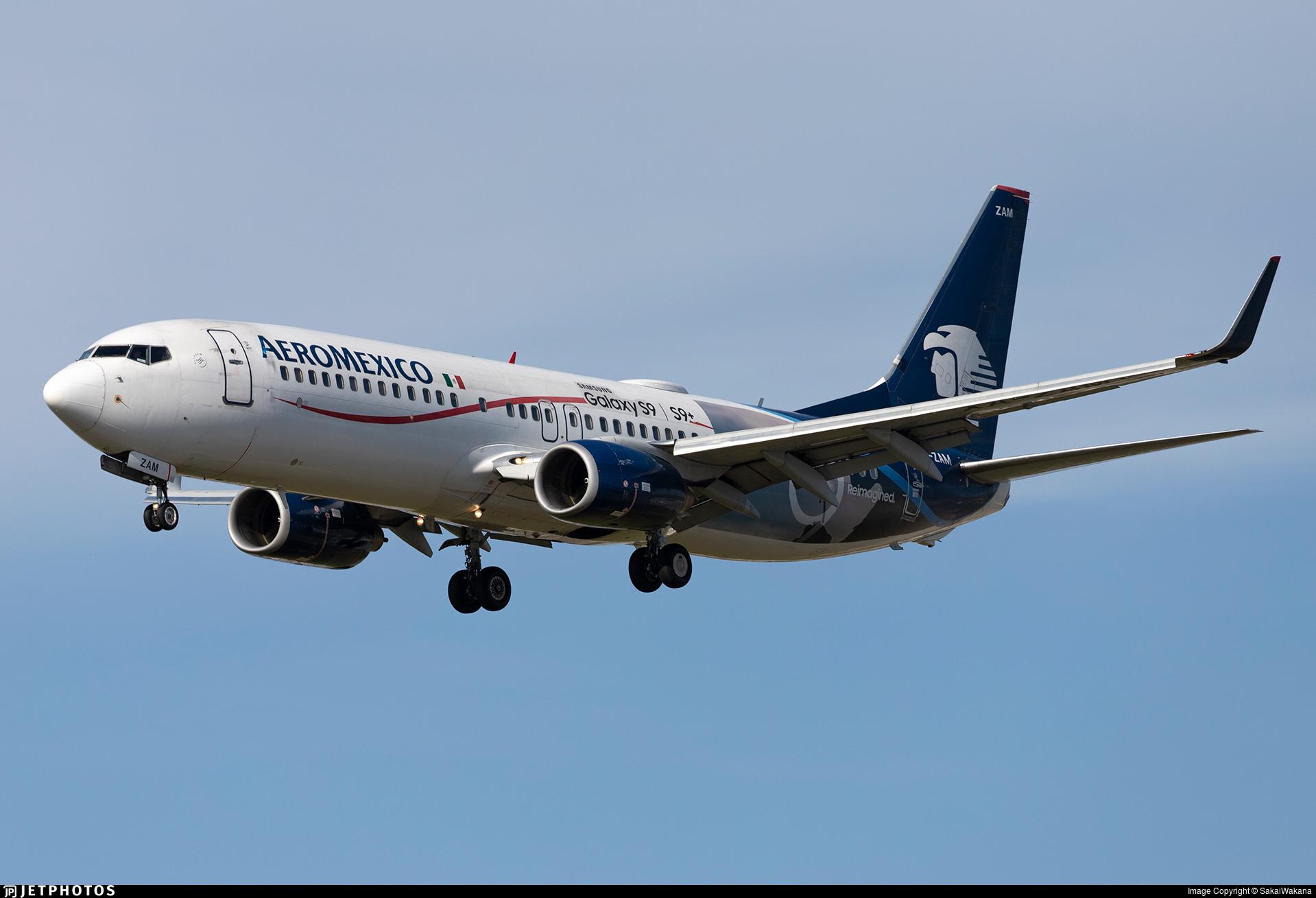 XA-ZAM - Boeing 737-852 - Aeroméxico