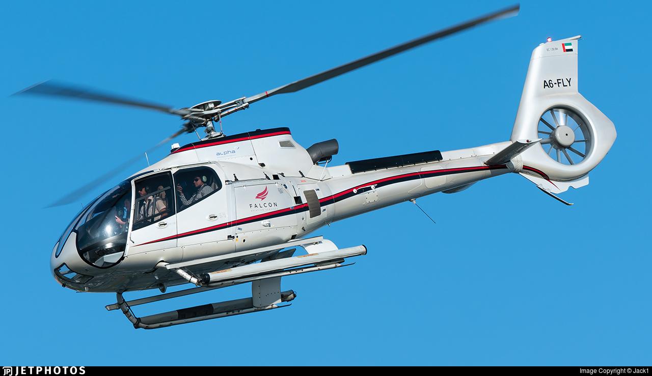A6-FLY - Eurocopter EC 130B4 - Falcon Aviation