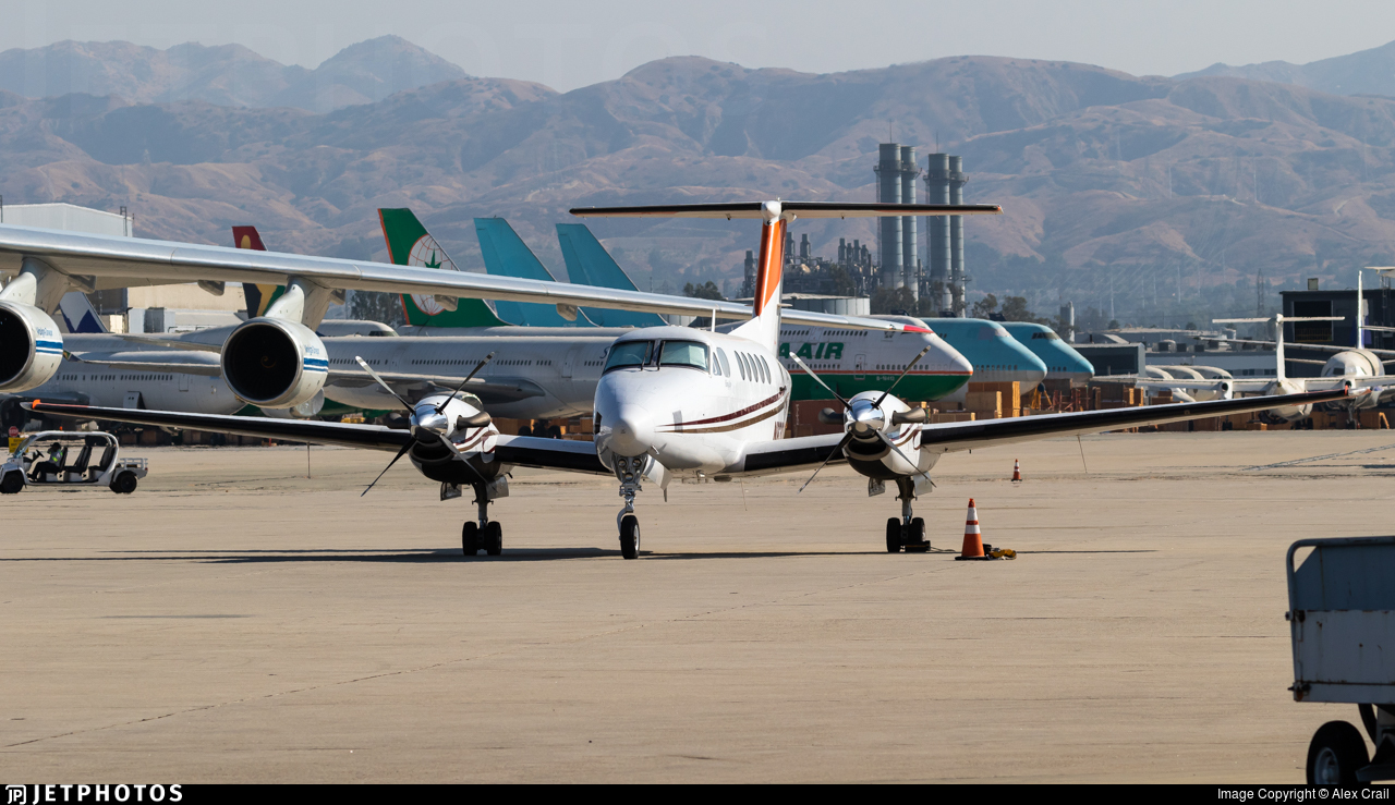 N6300F - Beechcraft B200 Super King Air - United States - Forest Service