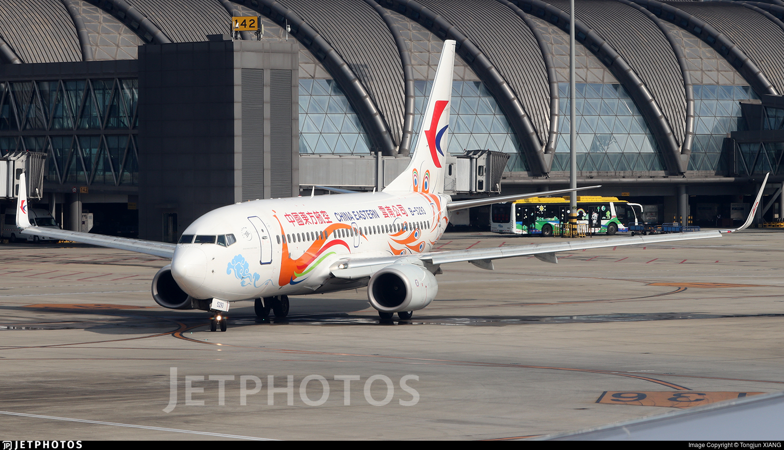B-5293 - Boeing 737-79P - China Eastern Airlines