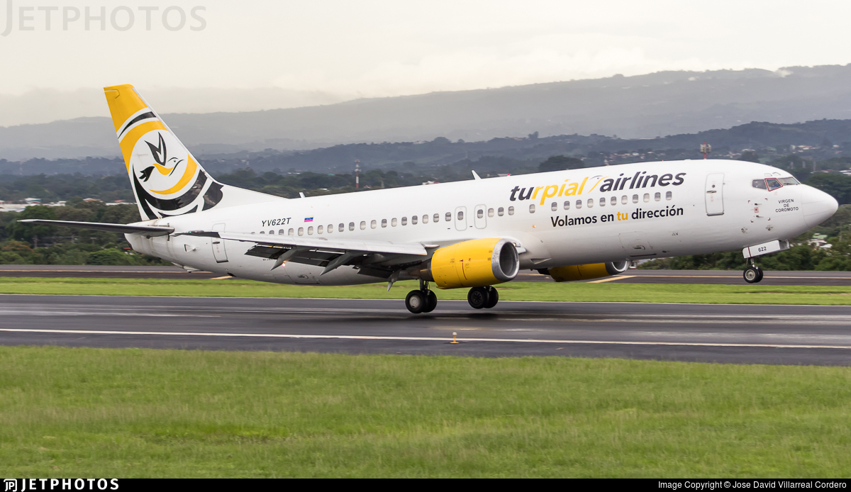YV622T - Boeing 737-4H6 - Turpial Airlines