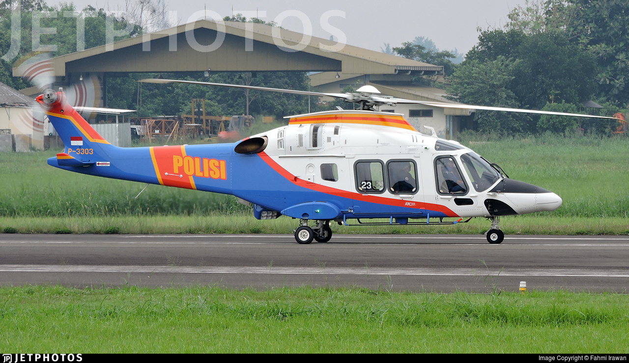 P-3303 - Agusta-Westland AW-169 - Indonesia - Police