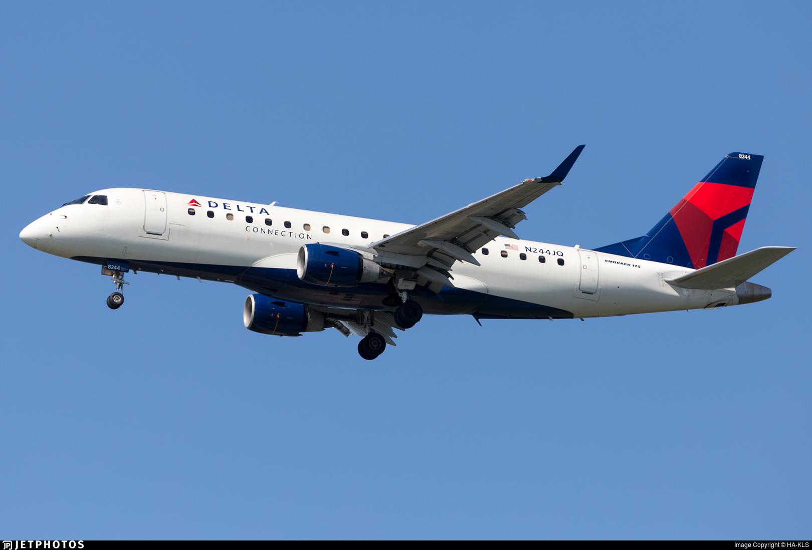 N244JQ - Embraer 170-200LR - Delta Connection (Republic Airlines)