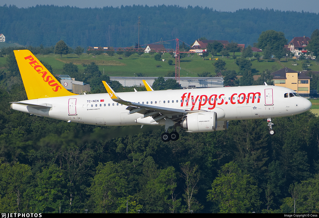 TC-NCN - Airbus A320-251N - Pegasus Airlines