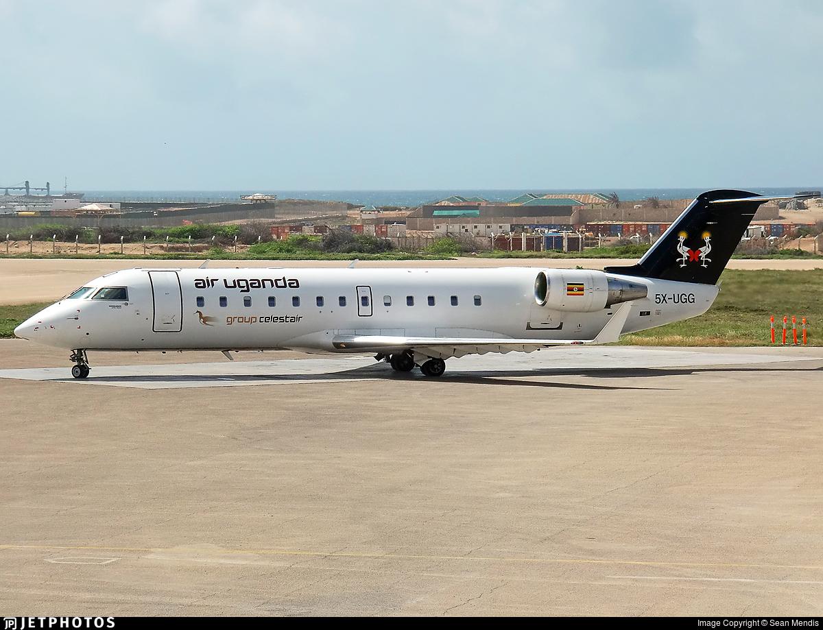 5X-UGG - Bombardier CRJ-200ER - Air Uganda