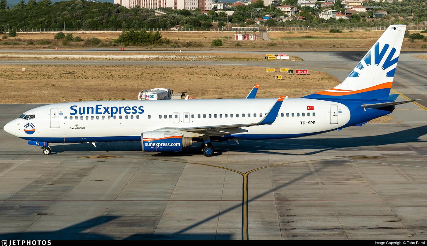 TC-SPB - Boeing 737-86Q - SunExpress