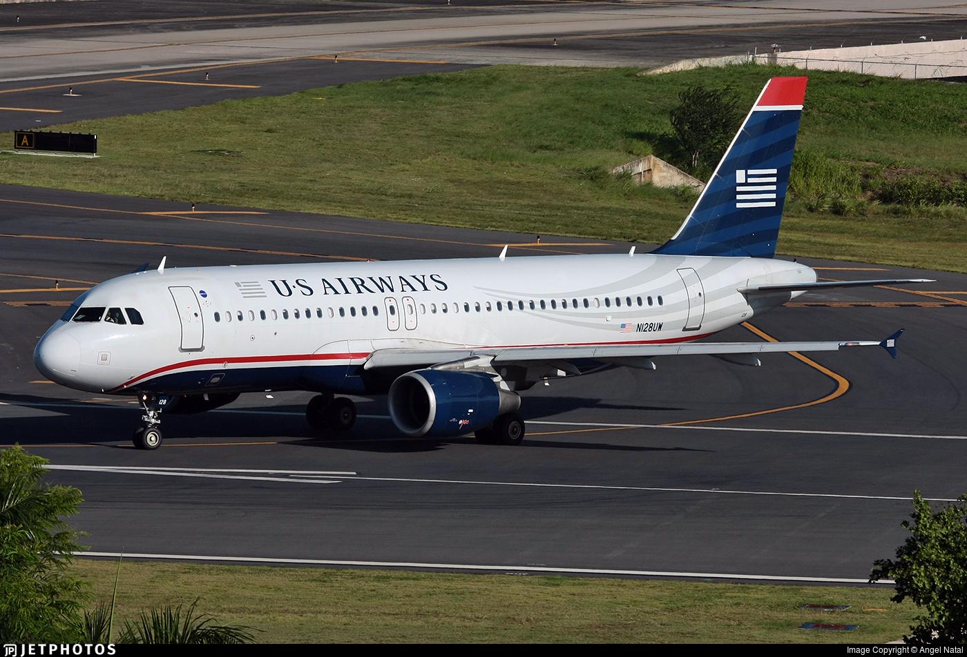 N128UW - Airbus A320-214 - US Airways