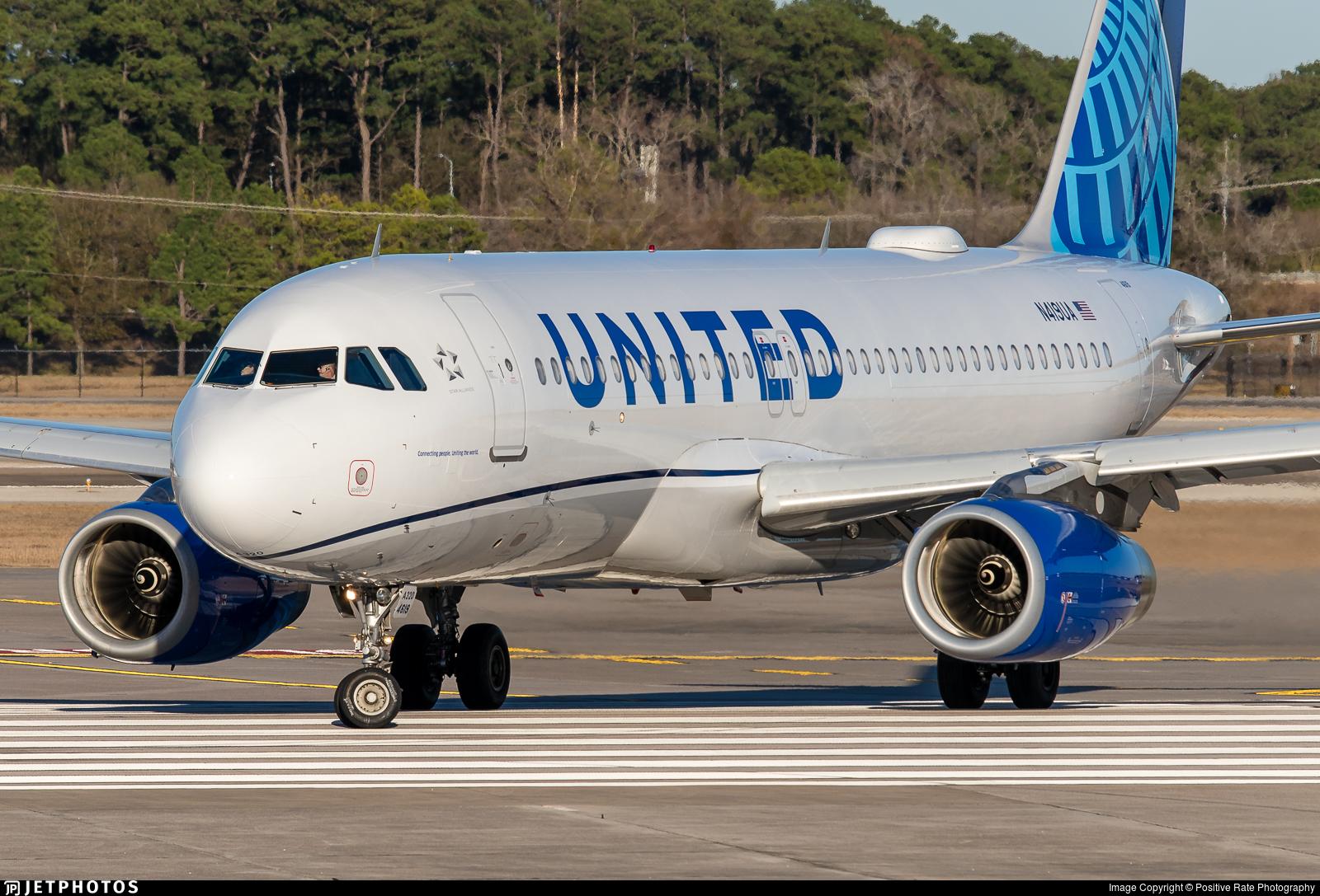 N419UA - Airbus A320-232 - United Airlines