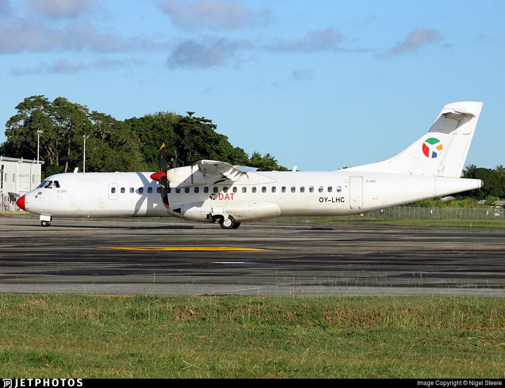 OY-LHC - ATR 72-212 - Danish Air Transport (DAT)