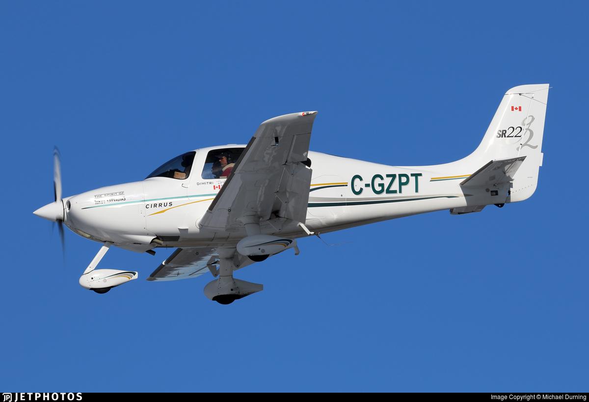 C-GZPT - Cirrus SR22-G2 - Private