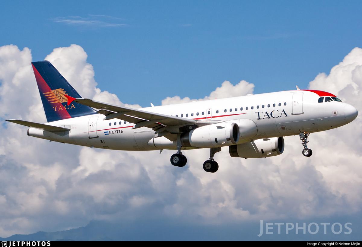 N477TA - Airbus A319-132 - TACA International Airlines