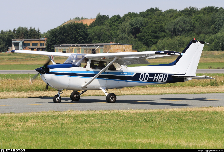 OO-HBU - Reims-Cessna F172N Skyhawk II - Private