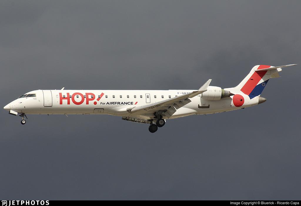 F-GRZG - Bombardier CRJ-701 - HOP! for Air France