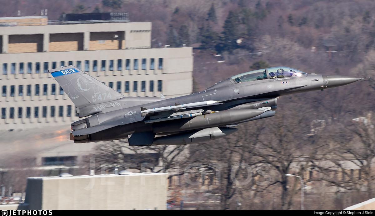 91-0474 - General Dynamics F-16DM Fighting Falcon - United States - US Air Force (USAF)