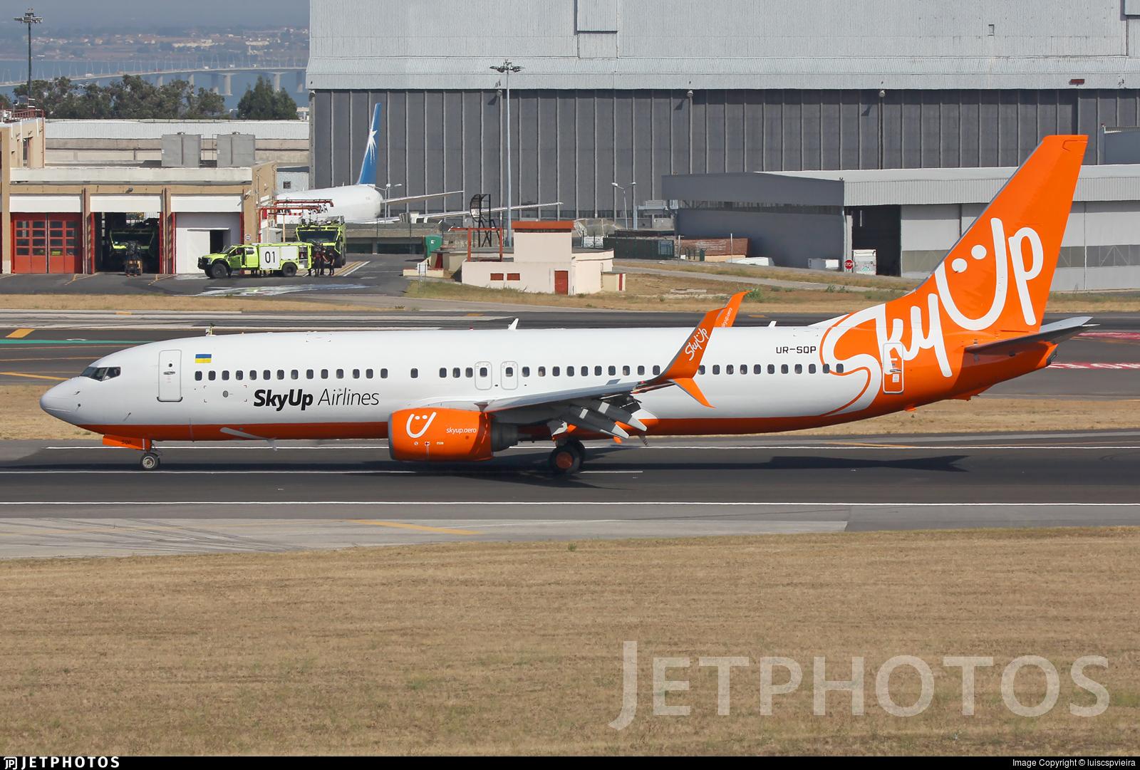 UR-SQP - Boeing 737-8BK - SkyUp Airlines