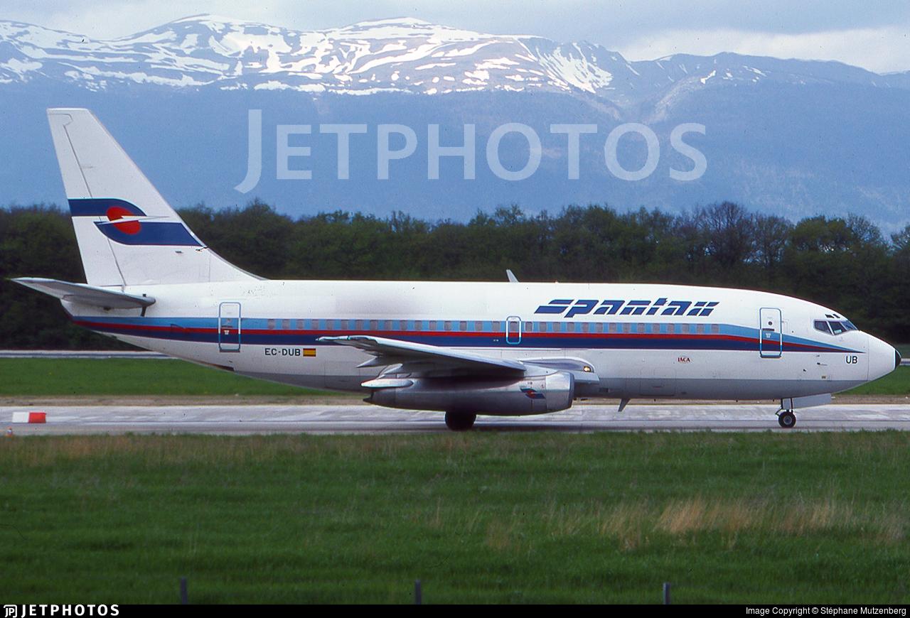 EC-DUB - Boeing 737-2K5(Adv) - Spantax
