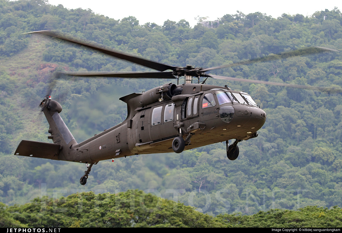 7336 | Sikorsky HH-60M Blackhawk | Thailand - Royal Thai