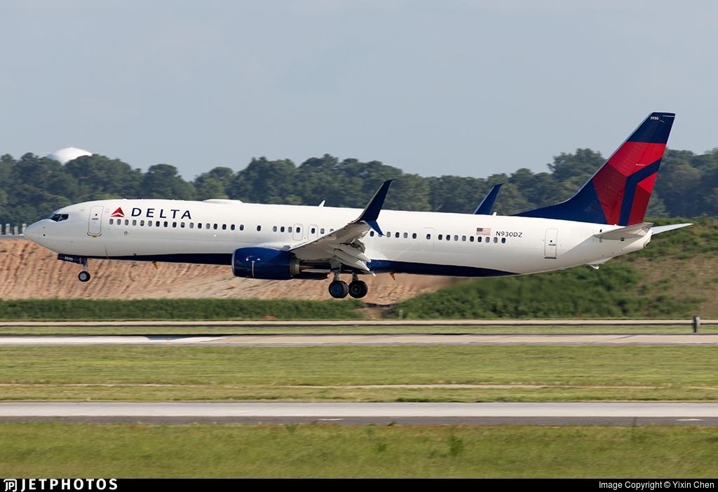 N930DZ - Boeing 737-932ER - Delta Air Lines