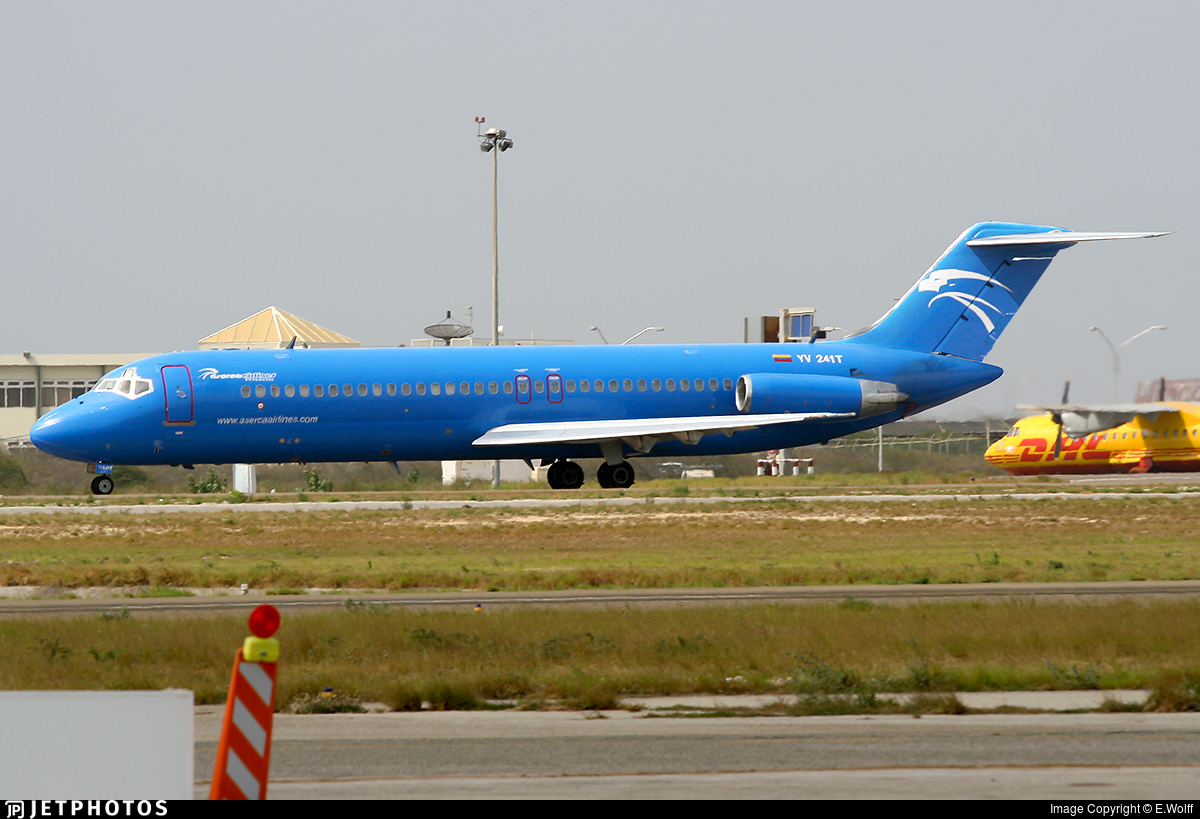 YV241T - McDonnell Douglas DC-9-31 - Aserca Airlines