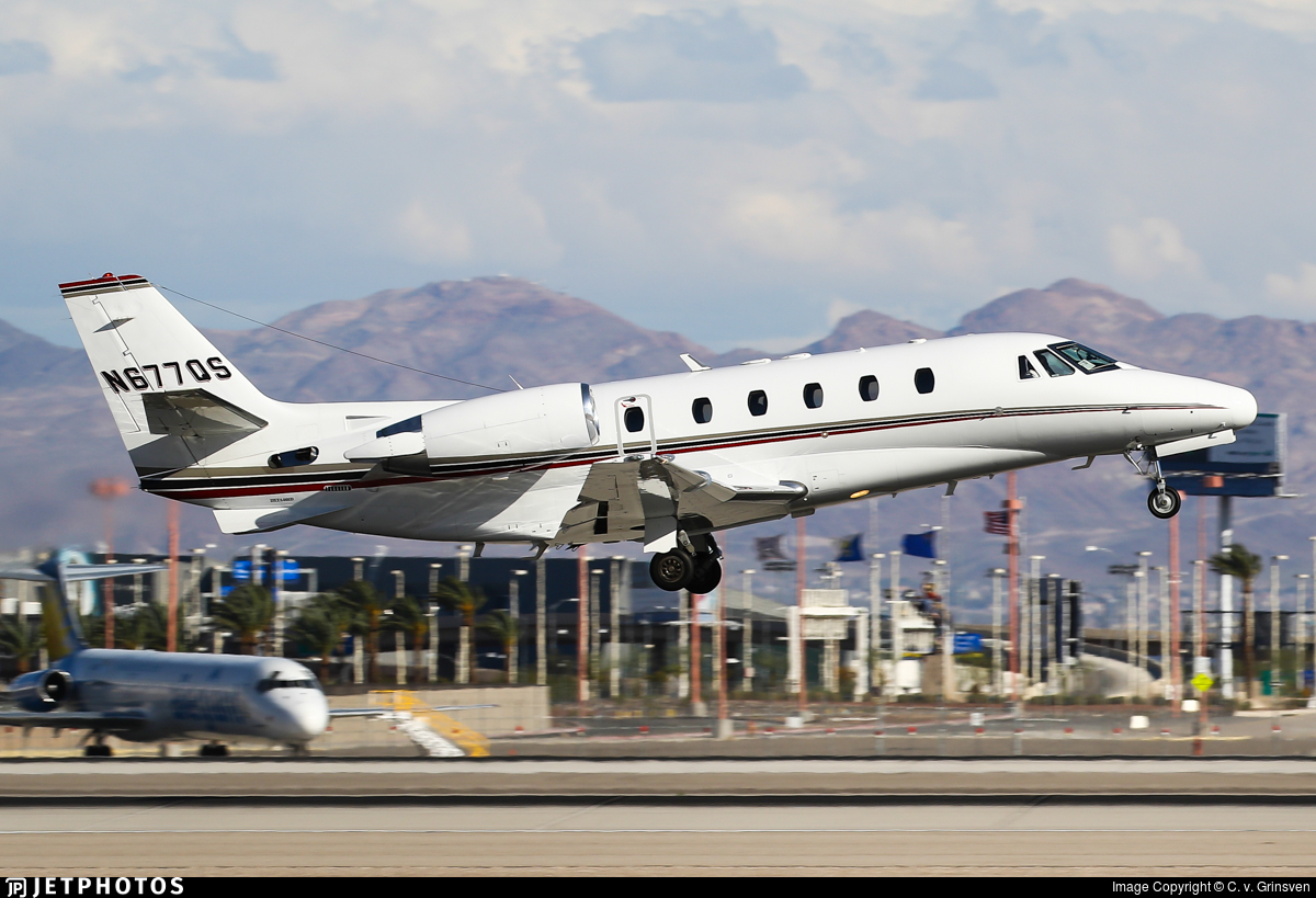 N677QS - Cessna 560XL Citation Excel - NetJets Aviation