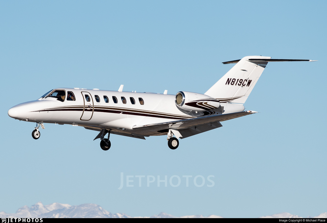 N819CW - Cessna 525B CitationJet CJ3+ - Private